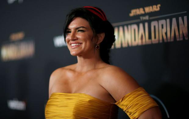 """Gina Carano a été durement critiquée pour ses commentaires sur les réseaux sociaux.  Lucasfilm a décidé de le séparer de """"The Mandalorian"""" et des futurs projets liés à Star Wars sur Disney +.  (Photo: Reuters)"""