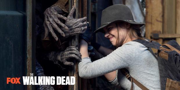 """Maggie est revenue sur """"The Walking Dead"""" (Photo: FOX)"""