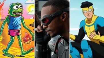 Toutes les versions de mars 2021 d'Amazon, Filmin et Disney +: 'Invincible', 'Falcon and the Winter Soldier', 'Feels Good Man' et plus