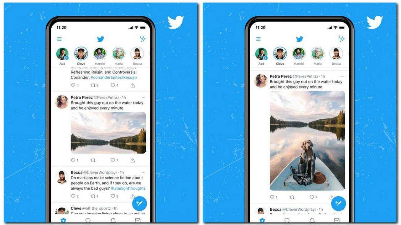 Twitter teste la vue en plein écran dans la chronologie des tweets, pour prendre en charge les images 4K