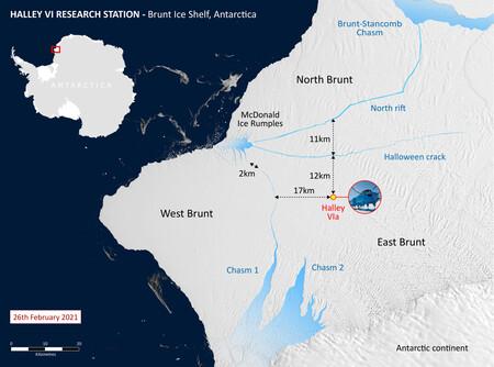 Brunt Ice Shelf Distances 26feb21 2048x1519