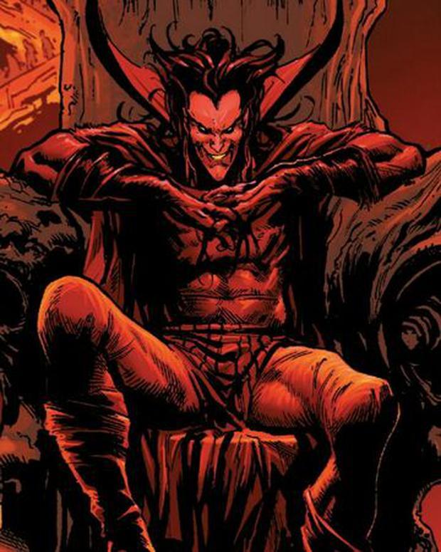 Voici à quoi ressemble Mephisto dans les bandes dessinées Marvel (Photo. Marvel Comics)