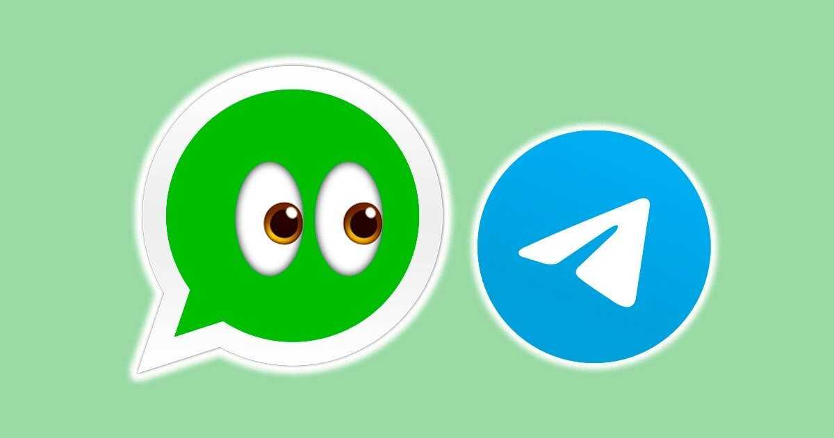 Icônes WhatsApp et Telegram
