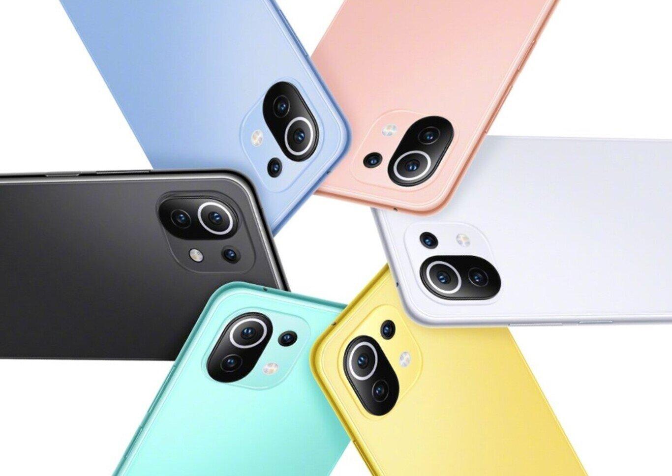 Le Xiaomi Mi 11 lite sera disponible dans un grand nombre de couleurs