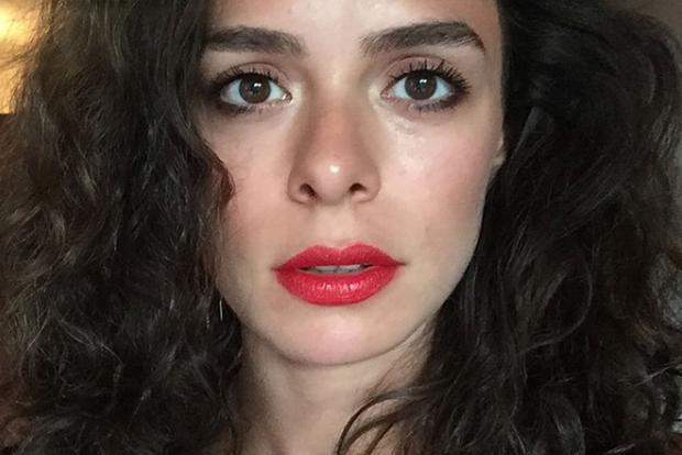 """""""Woman"""" est la dixième telenovela à laquelle participe Özge Özpirinçci (Photo: Instagram d"""