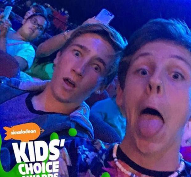 Jacob Bertrand sur Nickelodeon (Photo: Instagram / Jacob Bertrand)