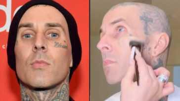 La Fille De Travis Barker Couvre Ses Tatouages sur Le