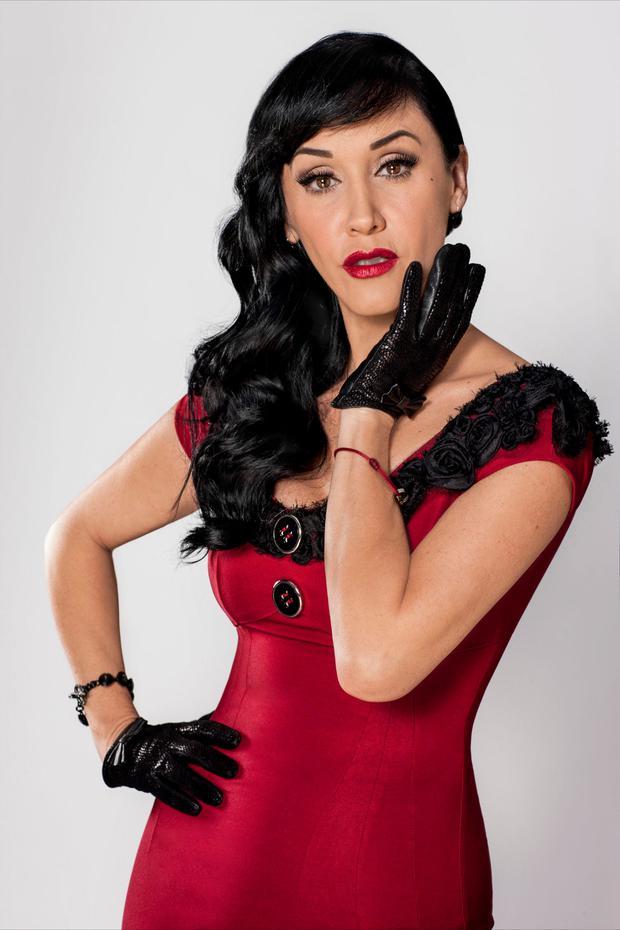 "Susana Zabaleta, membre du casting ""La dama de los pinos"" (Photo: Twitter)"