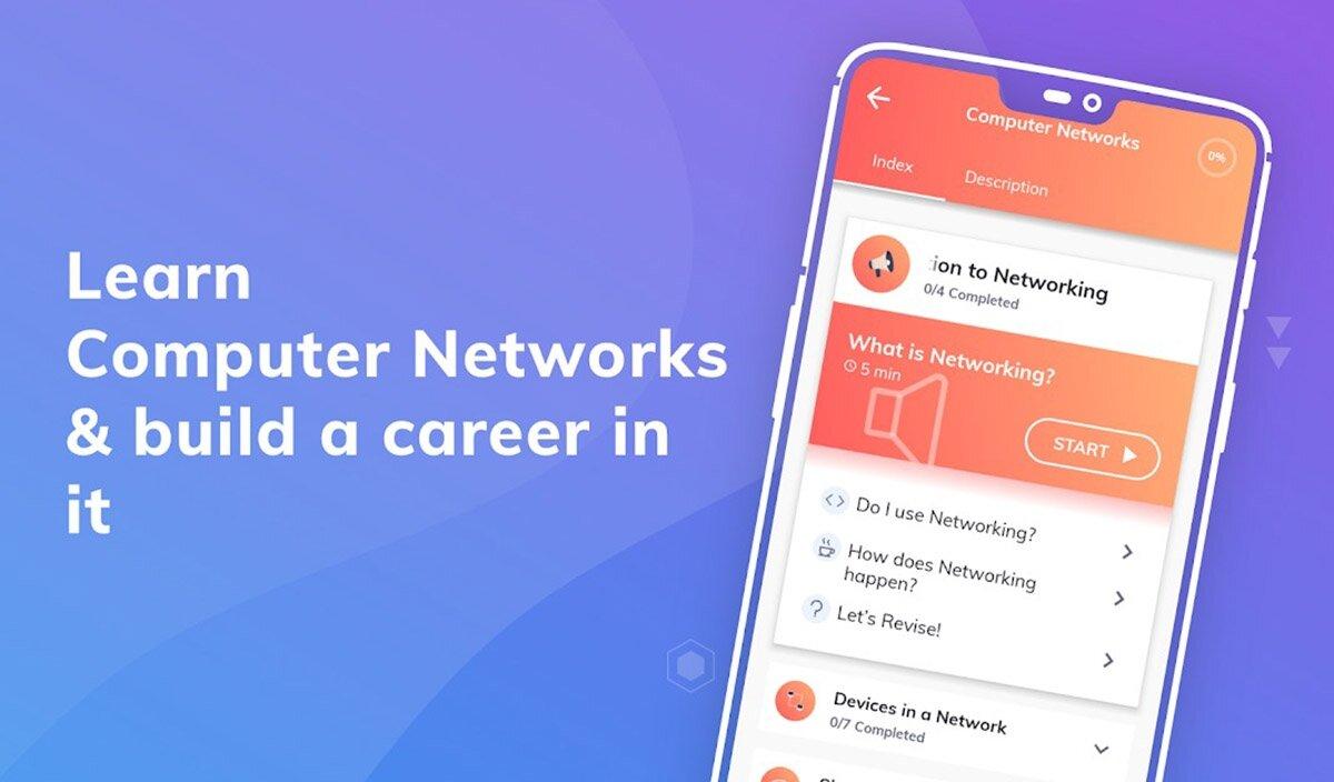 App apprendre les réseaux