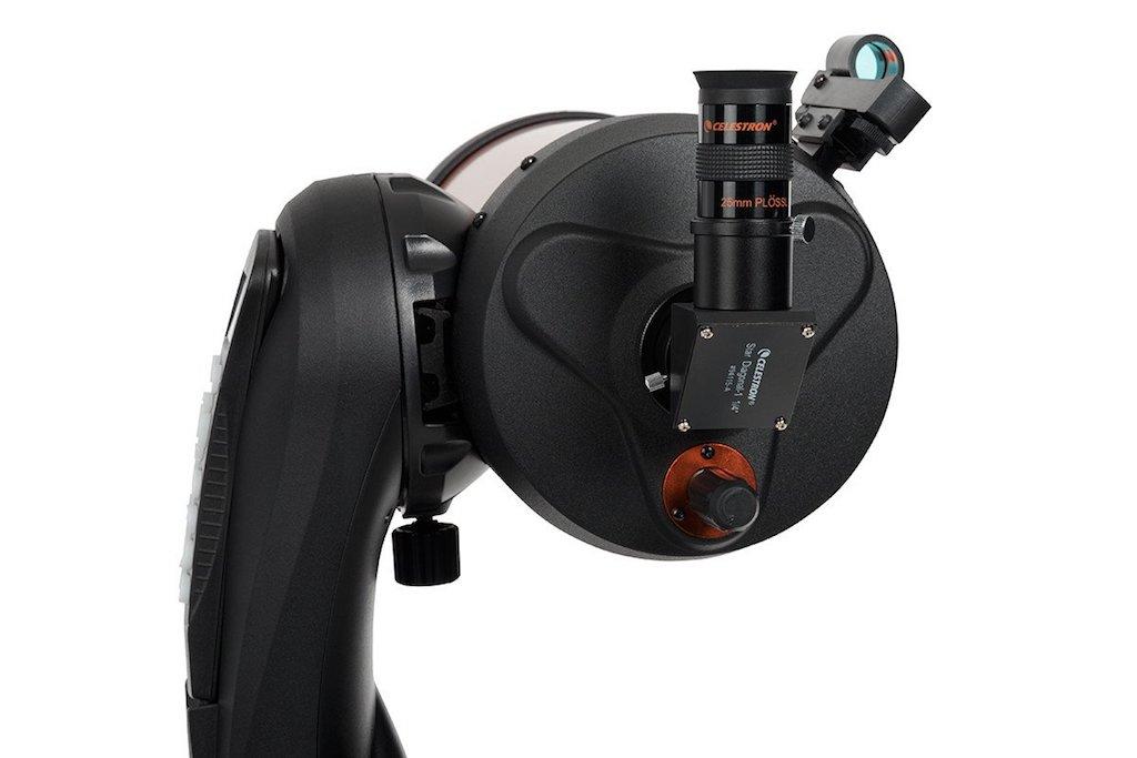 Une photo de presse de l'oculaire du Celestron NexStar 6SE