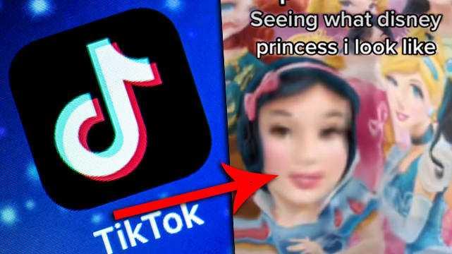 Le Filtre Shifting De Tiktok Vous Dira à Quelle Princesse