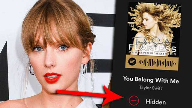 Les Fans De Taylor Swift `` Cachent '' L'ancien Album