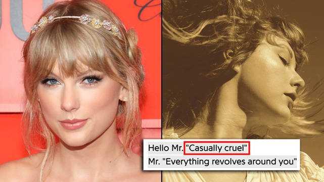 Tous Les œufs De Pâques Des Chansons De Taylor Swift's