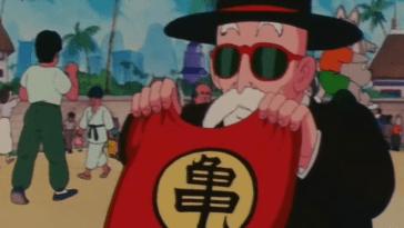 """Dragon Ball"": la véritable origine de l'uniforme de l'école de la tortue du maître Roshi"