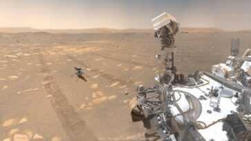 Hélicoptère Sur Mars! Le Webcast De La Nasa Enseigne Aux