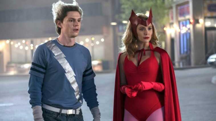 La raison émotionnelle d'Evan Peters est apparu sur `` WandaVision ''