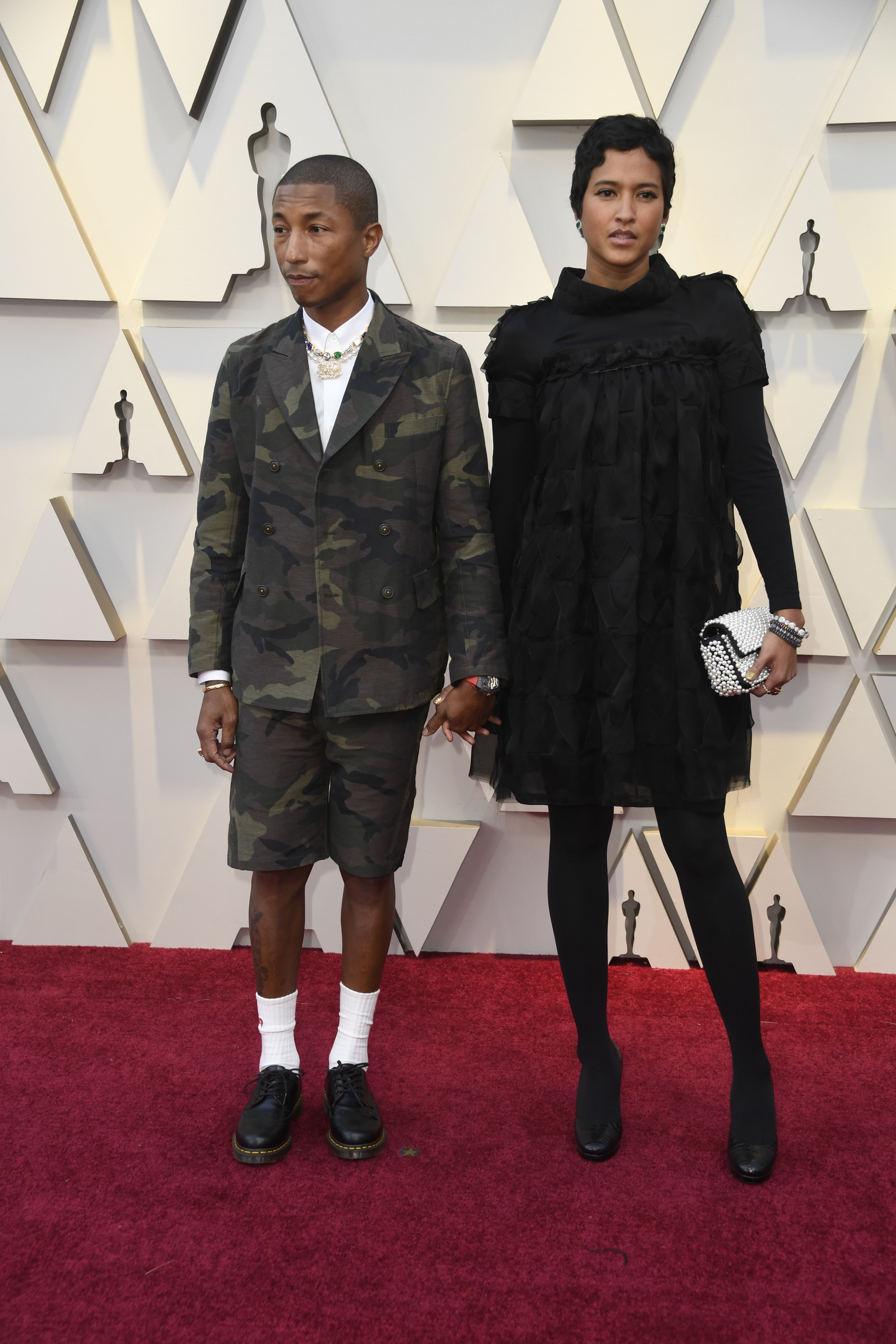 Pharrell Williams aux Oscars.  Photo: (Getty)