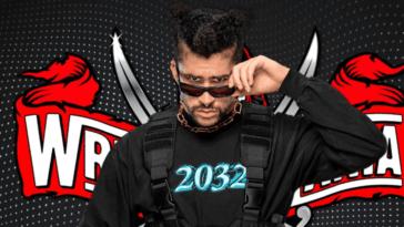 Bad Bunny surprend les fans avec son combat à WrestleMania 37