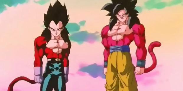 Vegeta et Goku avaient besoin d'incitations pour accéder à Super Saiyan 4 (Photo: Toei Animation)