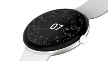 La Pixel Watch vise un lancement en octobre et une minceur extrême selon les dernières fuites