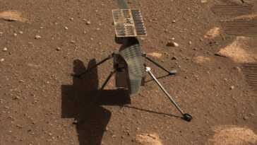 L'hélicoptère Mars De La Nasa Ingenuity Ne Volera Que La