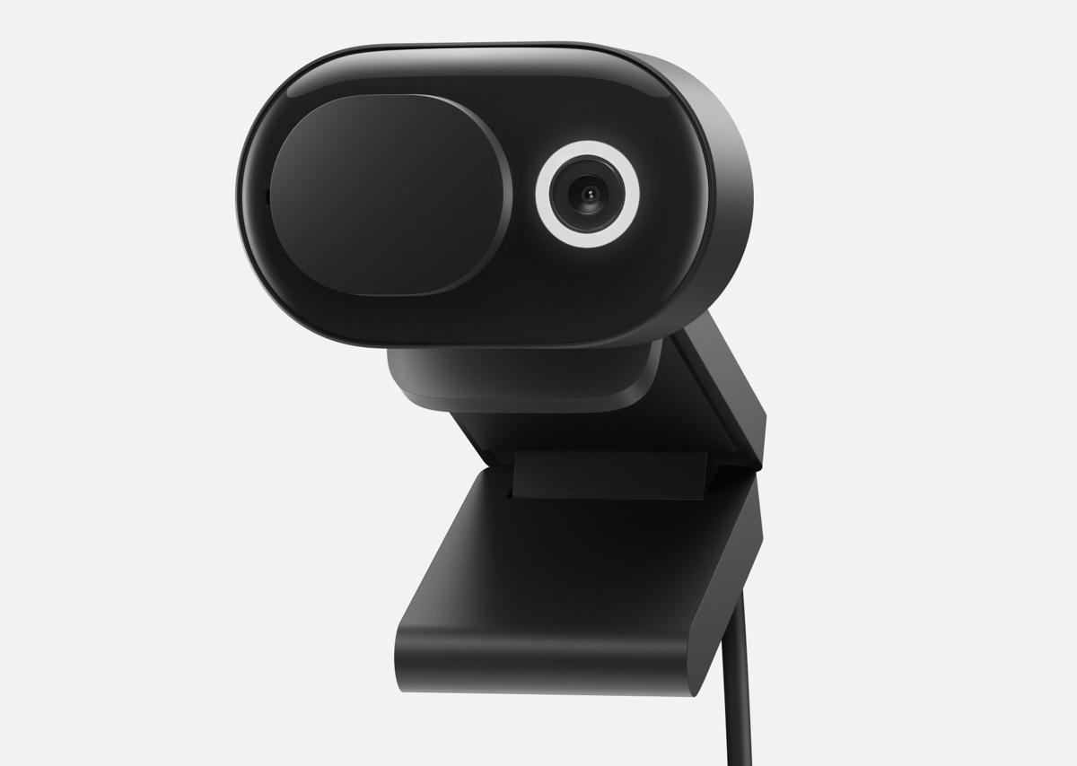 webcam Microsoft moderne recadrée 2