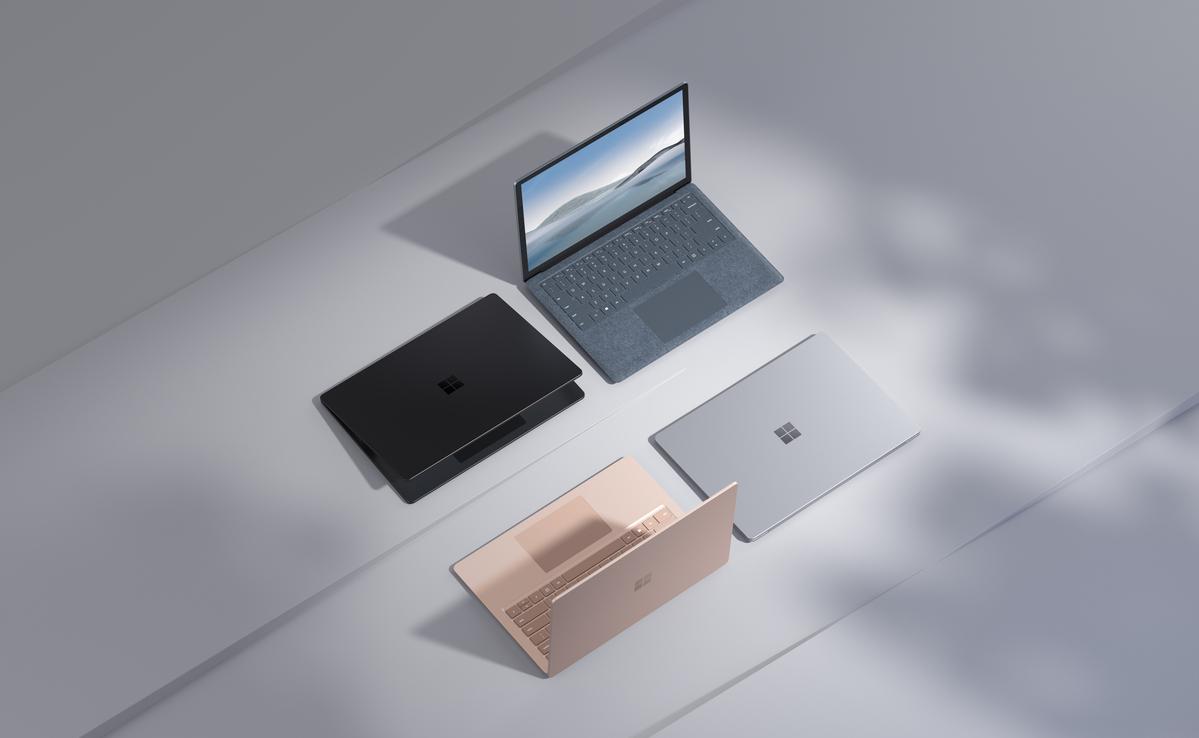 Surface Laptop 4 famille
