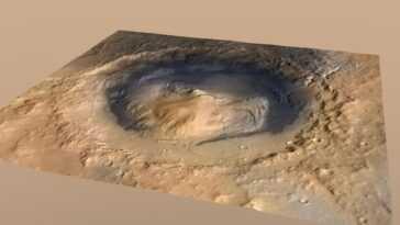 L'eau Sur Mars Ne S'est Pas Asséchée D'un Seul Coup,