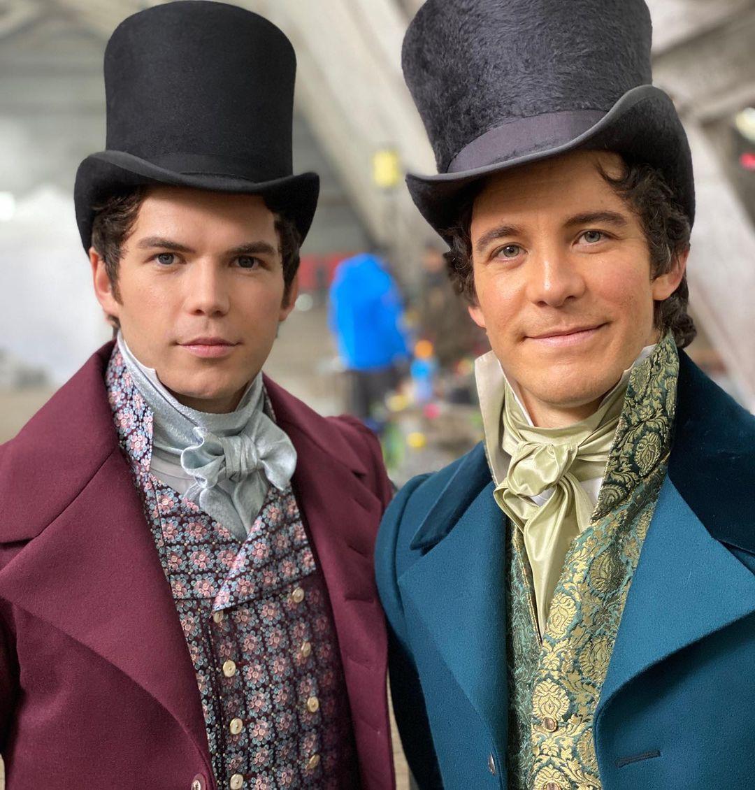 Bendict et Colin seront les prochains protagonistes.  Photo: (Netflix)