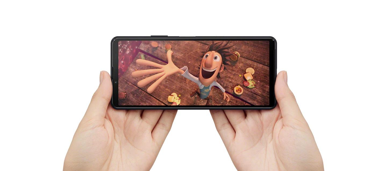 L'écran du Sony Xperia 10 III