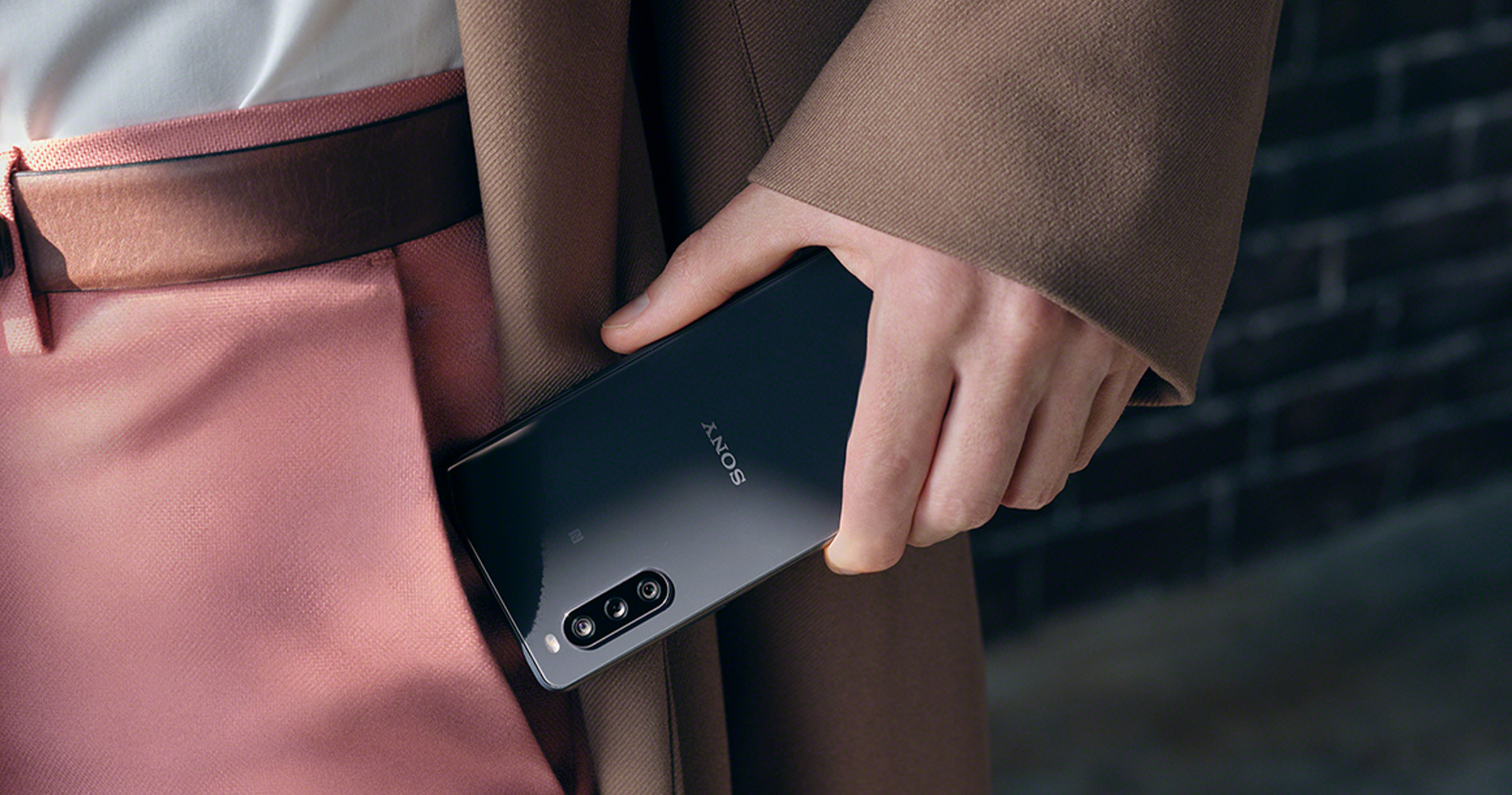 Sony Xperia 10 II, dos noir