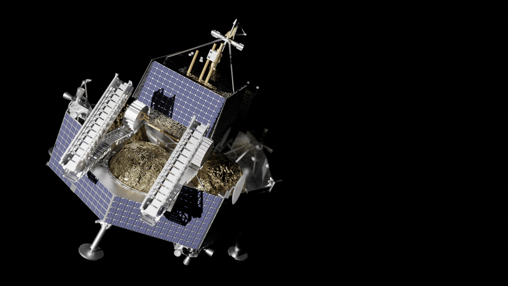 Le rover lunaire VIPER de la NASA pour la chasse sur glace montera sur la lune un atterrisseur astrobotique Griffin commercial sur la lune en 2023.