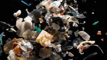 Les Microplastiques Circulant Dans L'atmosphère Provoquent La `` Plastification ''