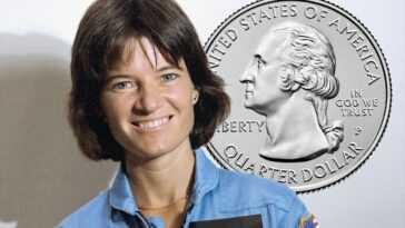 La Us Mint Rend Hommage à L'astronaute Sally Ride Dans