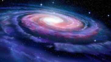 Les Astronomes Détectent Un Pont D'étoiles Bleu Vif Et Il