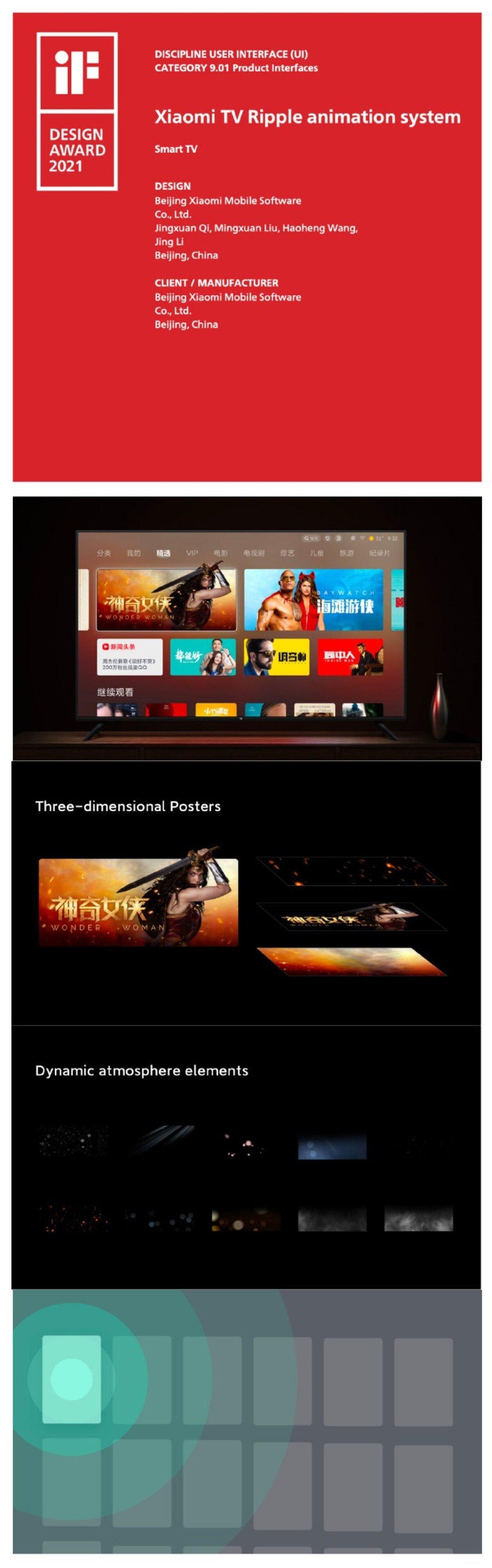 Message aux haters de MIUI: la couche de personnalisation de Xiaomi a été récompensée pour sa conception