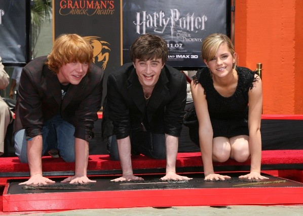 Les grands protagonistes de Harry Potter.  Photo: (Getty)