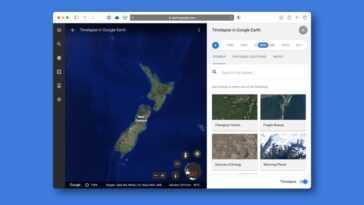 Google Earth ajoute Timelapse: une fonction pour voir comment la planète a changé en près de 4 décennies