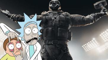 Rainbow Six Siege montre des skins cool de Rick et Morty