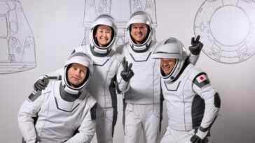 Mission D'astronaute Crew 2 De Spacex Pour La Nasa: Mises à