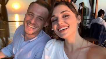 """""""L'amour est dans l'air"""": Kerem Bürsin et Hande Erçel, plus coquettes que jamais"""