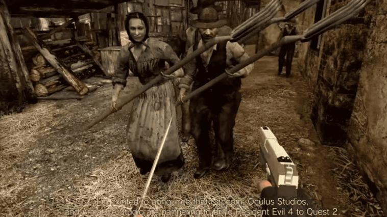 """""""Resident Evil 4 VR"""" est révélé et fait vibrer les fans"""