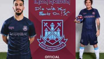 Iron Maiden s'associe à l'équipe de football anglaise du New Jersey