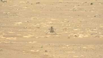 L'hélicoptère Mars De La Nasa Ingenuity Remporte Un Test De