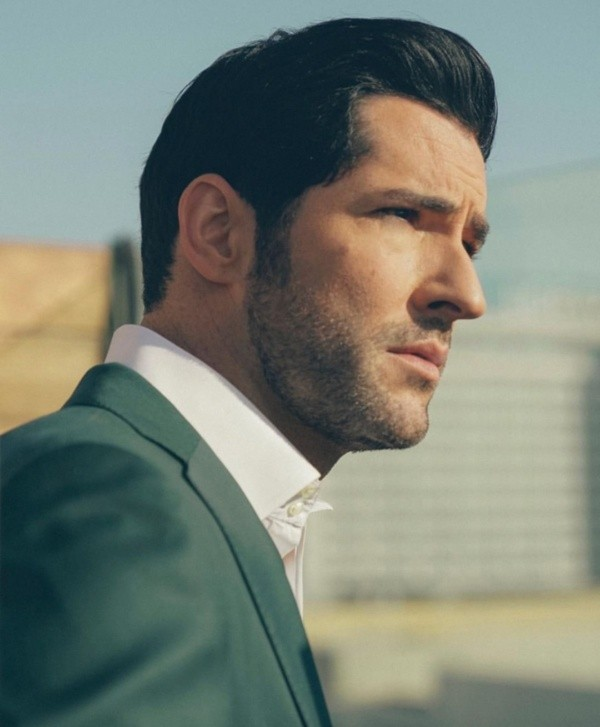 Tom Ellis dans son rôle de Lucifer.  Photo: (Tom Ellis)