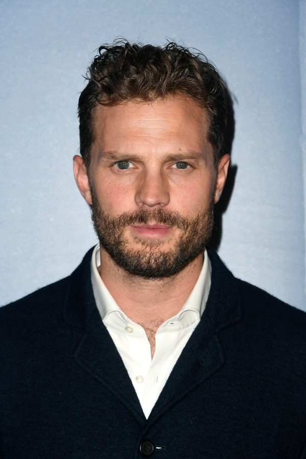 Jamie Dornan était le grand Christian Grey.  Photo: (Getty)