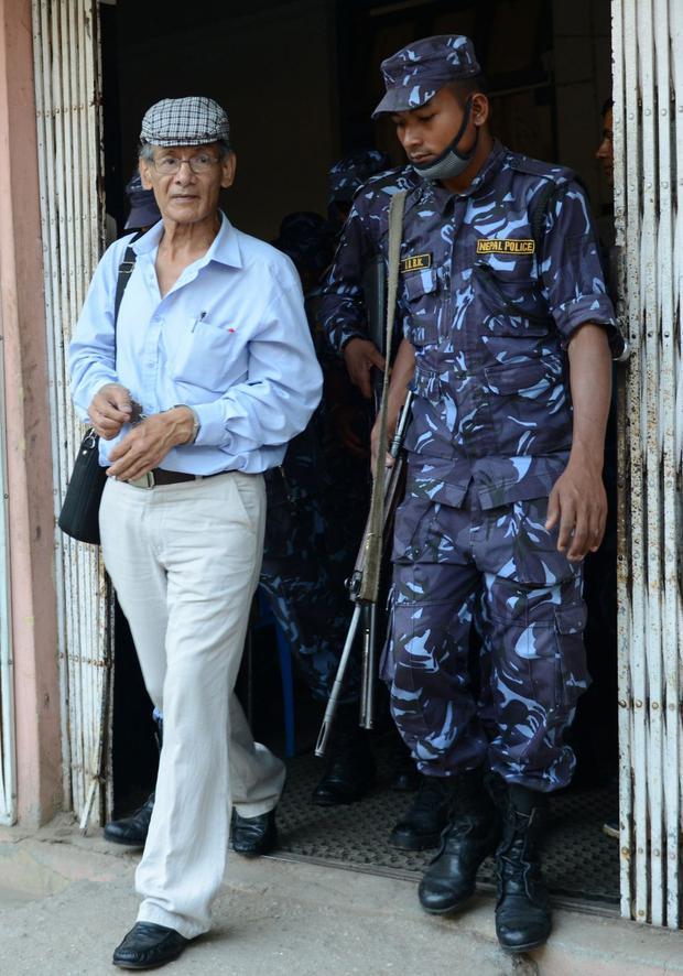 Sobhraj est né à Saïgon occupée par les Japonais en 1944. (Photo: The Sun)