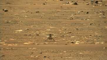 L'hélicoptère Mars De La Nasa Ingenuity Est Prêt à Faire