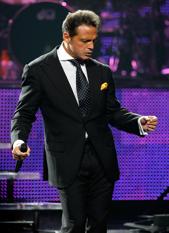 Luis Miguel continuera à chanter pour sa mère.  Photo: (Getty)