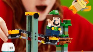 LEGO Super Mario: le frisson avec l'ensemble Luigi fuit en ligne